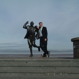 Jim in Morecambe, takes his inspiration from working with other professionals